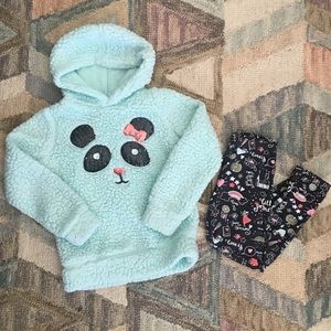 Colette Lilly Panda Sweater and Legging Set